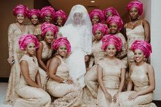 Flawless and Fly  - Bridal Bliss: Tiera and Oluwaseyi's Romantic Wedding Photos Will Leave You Swooning