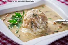 Wonder Wunderbare Küche: Bayerische Schwammerlsuppe (Waldpilzsuppe) mit Sem...