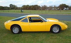 1964-1968 DE TOMASO VALLELUNGA - by Carrozzeria Ghia of Turin, designed by Carrozzeria Fissore of Savigliano, near Turin