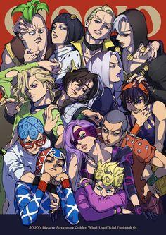 Vento Aureo (Golden Wind) - JoJo no Kimyou na Bouken - Image - Zerochan Anime Image Board Jojo's Bizarre Adventure, Jojo's Adventure, Manga Anime, Manga Art, Anime Art, Fanart, Jojo Anime, Jojo Parts, Jojo Memes