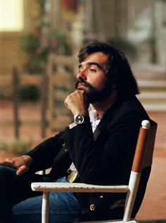 Martin Scorsese on the set of 'Alice Doesn't Live Here Anymore', 1974.