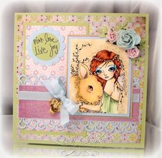 Beautiful Bunny by busysewin - Cards and Paper Crafts at Splitcoaststampers