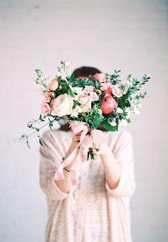 White Studio Portfolio Shoot- Academy Florist, Kat Willson Photography #florist #Bouquet #weddingbouquet #pinkbouquet #gardenbouquet