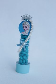Tubete Frozen Elza   Encanto e Emoções Artes   Elo7