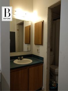 Tiny Budget Bathroom Remodel Inspiration | Apartment Therapy