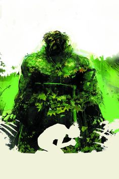 Swamp Thing #21 Virgin Cover #SwampThing #New52 #DC (Cover Artist: Jock) On Sale: 6/5/2013