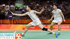 Misaki Matsutomo and Ayaka Takahashi claimed Japan's first-ever Olympic badminton gold medal after beating Denmark's Christinna Pedersen and Kamilla Rytter Tokyo Olympics, Rio Olympics 2016, Summer Olympics, Olympic Badminton, Olympic Games, Tokyo 2020, Game Tickets, Summer Games