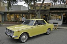 1968 Toyota Corona coupé - The '68 Corona was probably the first Toyota I saw, and its simple styling holds up well even today.