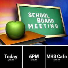 School Board Meeting: Business/Public - Today (5.23.2016) - 6PM - MHS Cafe #SouthAmboyPride