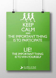 Keep calm and participate... LIE! - Diseño gráfico - Servilleta de PapelDiseño gráfico - Servilleta de Papel