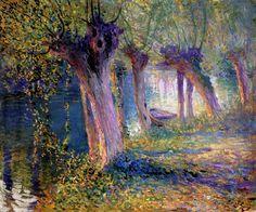 16 Ги Роуз «Река Эпт, Живерни» 1910 (700x583, 646Kb)