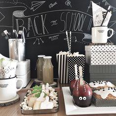 Back To School, Table Decorations, Popcorn, School Ideas, Party, Instagram, Diy, Furniture, Videos