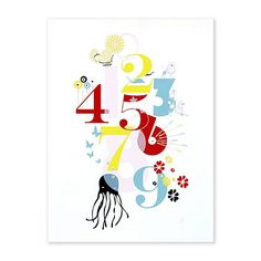 My Sweet Muffin - Binth Number Poster cute for kids' room