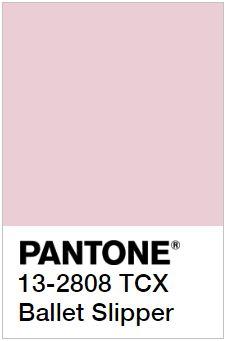 PANTONE 13-2808 Ballet Slipper