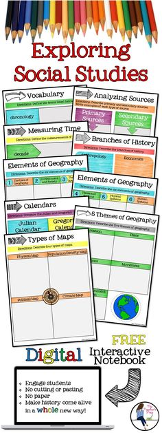 This FREE resource is a great way to engage your students while using Google Drive. *No cutting, gluing or paper needed! *Students work directly with their own copy of the file and their work is saved automatically *Engage students and make history come alive in new ways