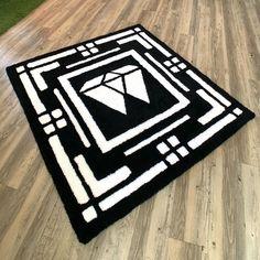 Custom Rugs, Diy, Bricolage, Do It Yourself, Homemade, Diys, Crafting