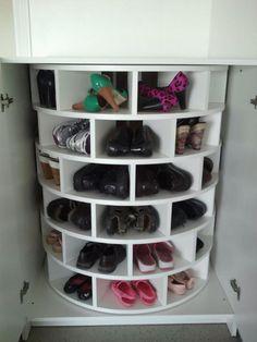 Slim je schoenen opbergen