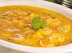 Bobó de camarão simples | Peixes e frutos do mar > Receitas com Camarão | Receitas Gshow
