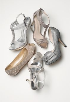 When it comes to bridal shoes, the possibilities are endless!