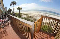 BeachSide East Gulf front Townhouse in Panama City Beach