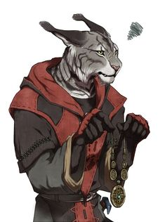 A Khajiit member of the Dark Brotherhood holds an Amulet of Mara. Posted on Tumblr.com by four-headed-tentacle-monster.