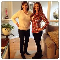 With my mom!!! She's 67! ... And she DID have type 2 diabetes until she let me change her eating... She followed my jump start program, lost 12 lbs and reversed her diabetes without ANY medication! Go (my) mom   Natalie Jill Fitness #fitmom #nataliejillfit #nataliejillfitness