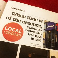 Another great and edition! This week in the I looked at quality spots, namely Junior, Curry in a Hurry, and Curry In A Hurry, Food Spot, The Neighbourhood, Restaurant, Words, Instagram Posts, Restaurants, Dining Room, Horse