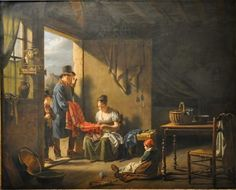 «Le Colporteur» de Martin Drolling (1752-1817)