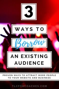 Proven ways to attract more people to your website and business. via @tlcforcoaches #traffic #marketing #partnerships #virtualassistants #coaches #guestposts #interviews #opportuntities