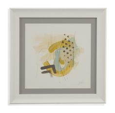 Thoroughly Modern 'Tonal Frequency I' Framed Painting Print