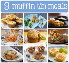 9 Little Meals: Muffin Tins for Not Just Muffins