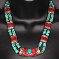 Ethnic necklace from Tibet