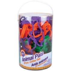 Animal Pals Cookie Cutters (50pc)  Everyone will go wild for cookies, foods and crafts made with this menagerie of 50 favorite animal shapes. Shapes include fish, dog, cat, birds, butterflies, reptiles and more.  Recipe included.
