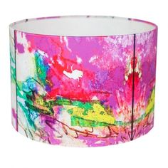 Add a touch of contemporary style to your interior with this gorgeous 'Botanical' lampshade. Inspired by the Angelica Rose this lampshade is brimming with vibrant hues of fuchsia and green. FREE DELIVERY IN IRELAND Unusual Gifts, Interior Lighting, Contemporary Style, Interior And Exterior, My Design, Shades, Rose, Amanda, Ireland