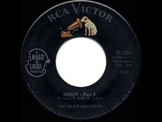 1959 HITS ARCHIVE: *Shout (Parts 1 & 2)*- Isley Brothers - YouTube