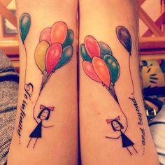 Best Friend Tattoos Girls Ankles 1-best-friend-tattoo