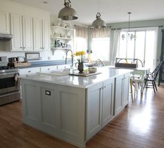 Annie Sloan Chalk Paint On Kitchen Cabinets Country Grey Chalk - Country gray kitchen cabinets