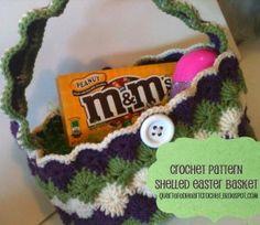 Shelled Crochet Easter Basket/Handbag...free pattern!