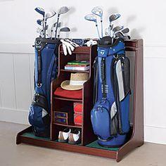 Double Golf Bag Organizer