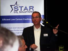 Roadshow speaker and Managing Director of Star Technical Solutions, David Blackhurst, during his presentation on legislation, R22 phase-out and F-Gas regulations in Reading