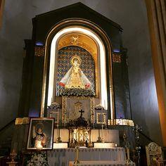 Visiting my beloved Queen! Viva La Virgen! #blessedmother #queenofheavenandearth #lanavaldemanila 😊💐