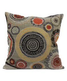 Look what I found on #zulily! Riollo Saffron Throw Pillow #zulilyfinds