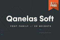 Qanelas Soft Free Font Download — Free Design Resources  #freefonts #design