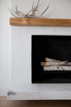 Fireplaces On Pinterest Stucco Fireplace Fireplaces And Wood Mantle