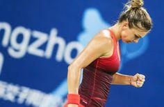 Blog Esportivo do Suíço:  Halep é derrotada na China e dá adeus ao WTA de Guangzhou