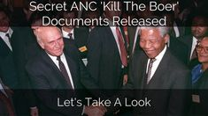 Secret ANC 'Kill The Boer' Document Released. Let's Take A Look... Take That, Let It Be, World Records, Channel, My Love, South Africa, Youtube, Gaming, Fictional Characters
