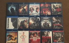 BLU-RAY MOVIES LOT! (#2) YOU PICK HOW MANY FROM 80 Titles!!