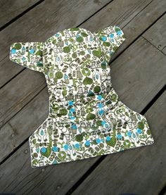Earth Happy OS Cloth Pocket Diaper from Polish Prince Diapers on etsy! $18.50