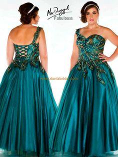 61d336a9fee Mac Duggal 42833F  502. Daniz Bridal · Mac Duggal Fabulous Dress · Plus Size  Champagne Bridesmaid Dresses ...