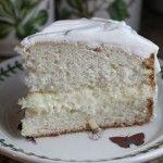 Lemon Cream Filled Cake